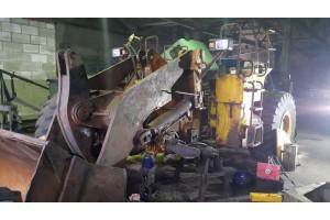Ремонт фронтального погрузчика XCMG LW500F