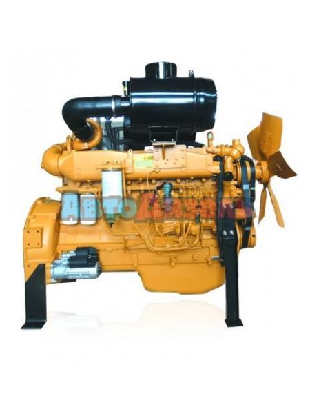 Двигатель WD10G220E21 1-ой комплектности с навесным оборудованием XCMG ZL50, LW500F