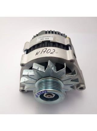 Генератор 6PK VG1560090012  JFZ255-024 28V/55A HOWO дв: WD615
