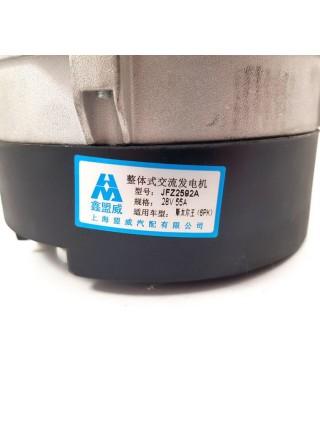 Генератор 6PK VG1560090012  JFZ255-024 28V/55A HOWO дв: WD615 XINMENGWEI